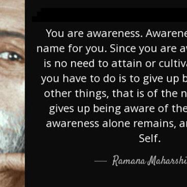 conscious-process_ramana-maharshi