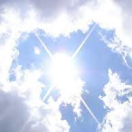 alsof ik de hele dag in de zon had gezeten.