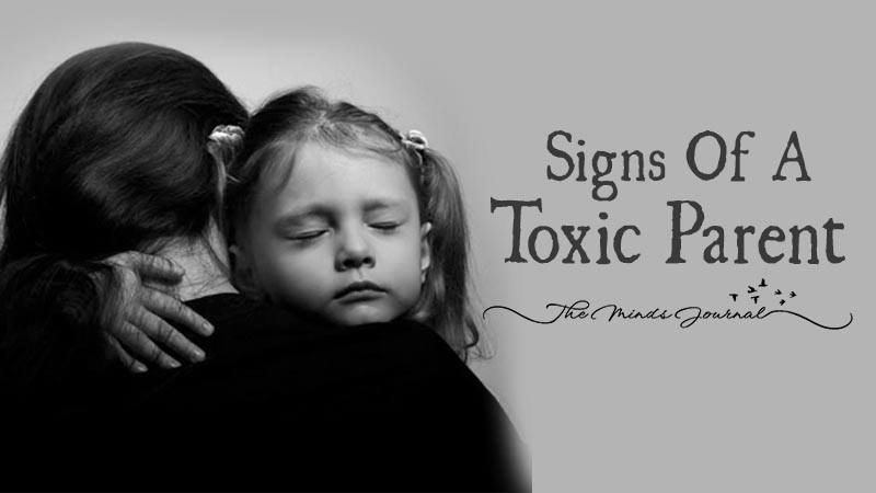 Parents toxic signs of 3 Signs